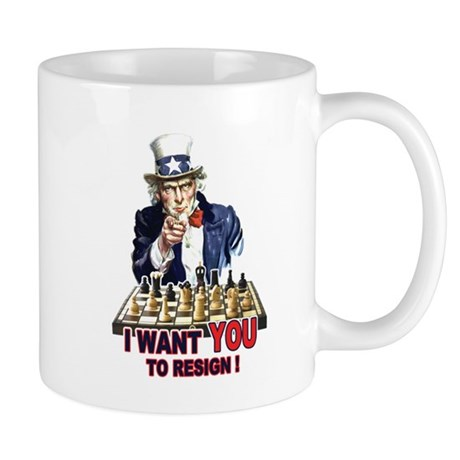 CHESS - Uncle Sam (Resign) Mug