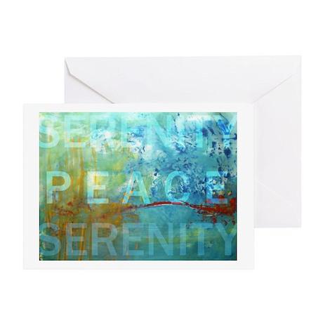 SERENITY ART Greeting Card
