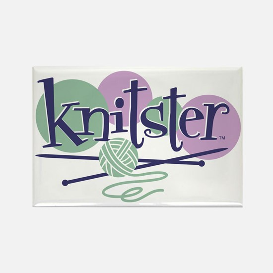Knitster Rectangle Magnet