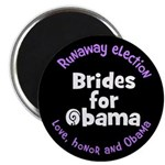Love, honor and Obama Magnet (100 pack)