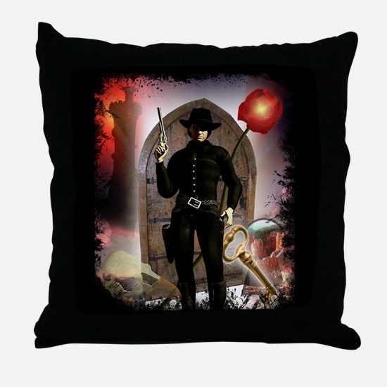 The Dark Tower Throw Pillow