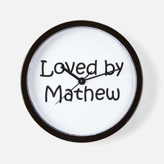 Unique Mathew Wall Clock