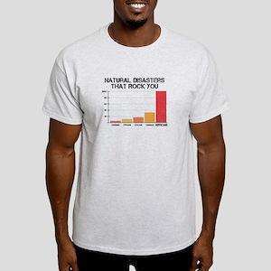 'Natural Disasters' Light T-Shirt