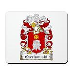 Czechowski Family Crest Mousepad
