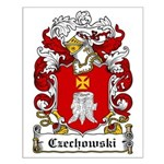 Czechowski Family Crest Small Poster