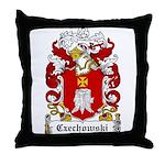 Czechowski Family Crest Throw Pillow