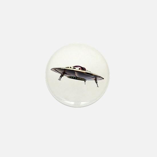 Metalic UFO Mini Button