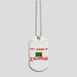 100 Percent Made In Zambia Dog Tags