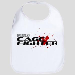 Russian Cage Fighter Bib