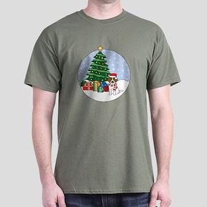 Beagle Christmas Dark T-Shirt