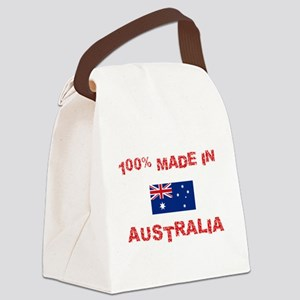 100 Percent Made In Australia Canvas Lunch Bag