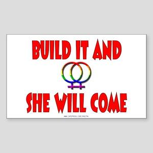 Build It<br>Rectangle Sticker