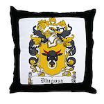 Dlugosz Family Crest Throw Pillow