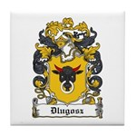 Dlugosz Family Crest Tile Coaster