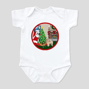 Deck The Halls Chow Chow Infant Bodysuit