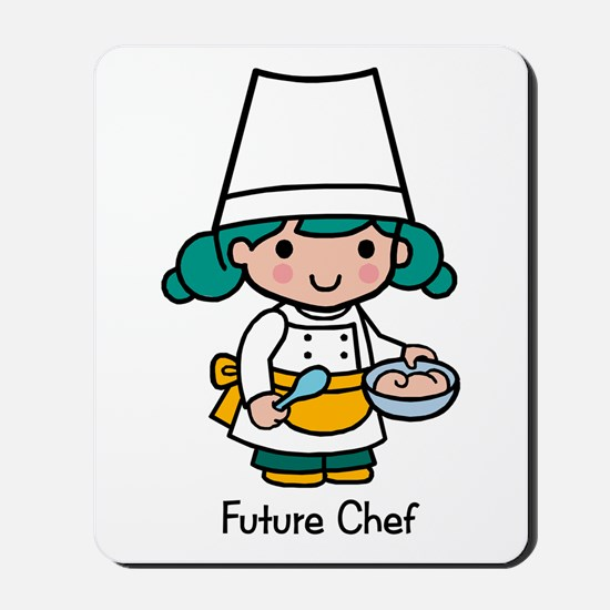 Future Chef girl Mousepad