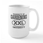 Gardening University Large Mug