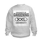 Gardening University Kids Sweatshirt