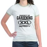 Gardening University Jr. Ringer T-Shirt