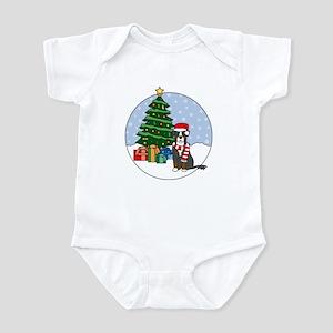 Berner Christmas Infant Bodysuit