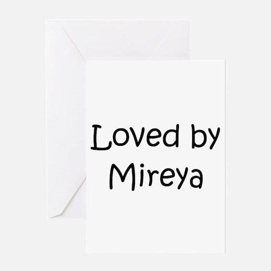 Unique Mireya Greeting Card