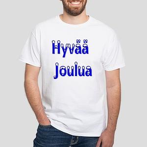 Hyvää Joulua White T-Shirt