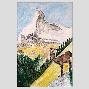Ibex Mountain Large Poster