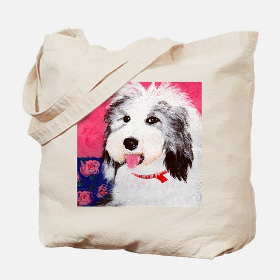 dog_oes_q01 Tote Bag