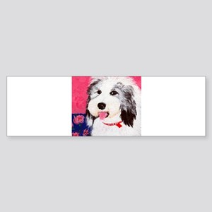 dog_oes_q01 Bumper Sticker