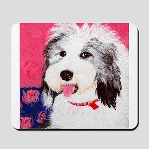 dog_oes_q01 Mousepad