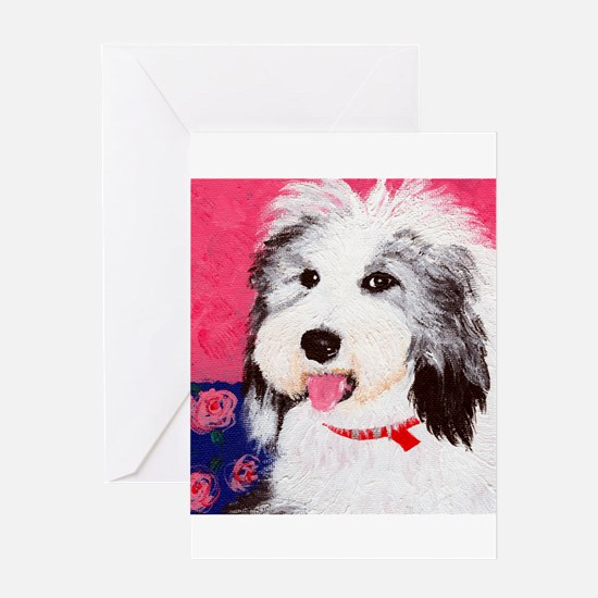 dog_oes_q01 Greeting Card