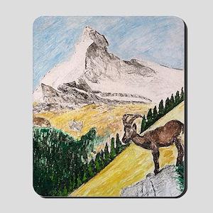 Ibex Mountain Mousepad