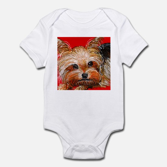dog_yorkie_q01 Infant Bodysuit