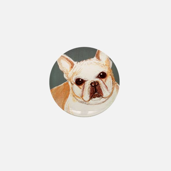 dog_french_q01 Mini Button
