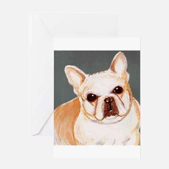 dog_french_q01 Greeting Card