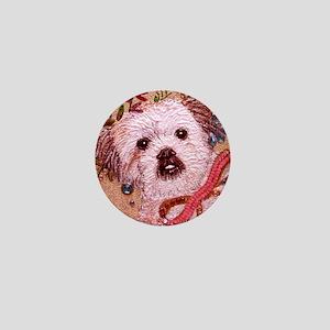 dog_lhasa_q01 Mini Button