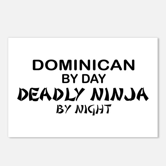 Dominican Deadly Ninja by Night Postcards (Package