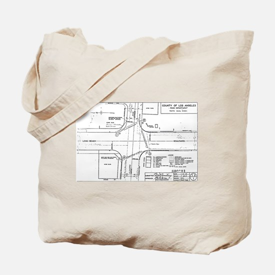 County Signal Number 1 Tote Bag