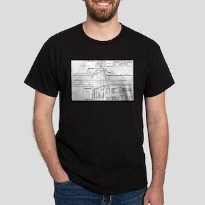 County Signal Number 1 Dark T-Shirt