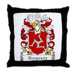 Drogomir Family Crest Throw Pillow