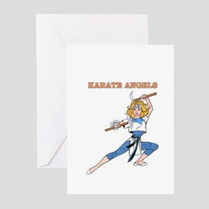 Karate Angels Greeting Cards (Pk of 10)