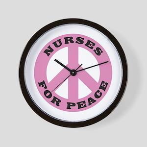 Nurses For Peace Wall Clock