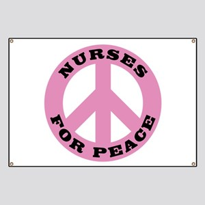 Nurses For Peace Banner