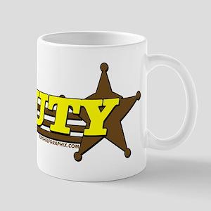 DEPUTY ~ YELLOW-BROWN Mug
