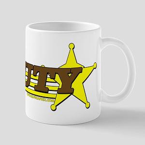 DEPUTY ~ BROWN-YELLOW Mug