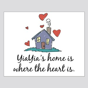 YiaYia's Home is Where the Heart Is Small Poster