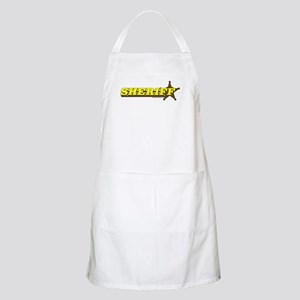 SHERIFF ~ YELLOW-BROWN BBQ Apron