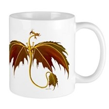 Leaf dragon Mugs