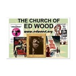 Church of Ed Wood OFFICIAL Mini Poster Print