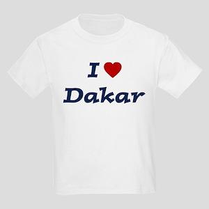 I HEART DAKAR Kids Light T-Shirt